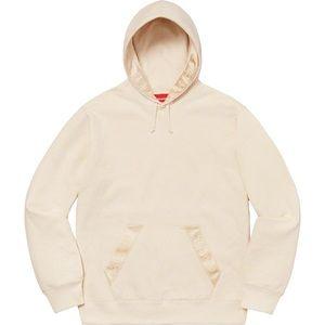 Authentic SUPREME Tonal Webbing Hooded Sweatshirt